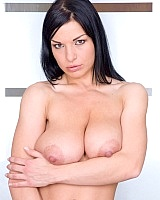 Big-breasted Daria ever wanted to expose her wonderfull curves to the world  and here she is. This babe takes your complete attention