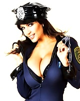 Oh man youre gonna love this weeks pics of mega MILF Denise Milani. This big tittied Mom Id Like to Fuck Denise Milani is the hot cop your hope and pr