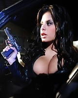 Wendy Fiore in an action girls photo shoot looking hot as hell